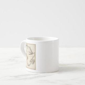 Africa 39 6 oz ceramic espresso cup