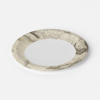 Africa 39 7 inch paper plate