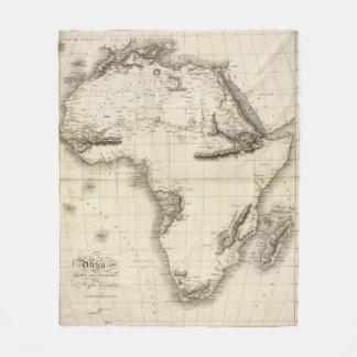 Africa 39 fleece blanket