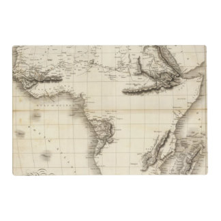 Africa 39 laminated placemat