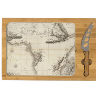 Africa 39 rectangular cheeseboard