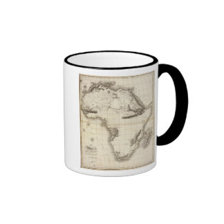 Africa 39 ringer coffee mug