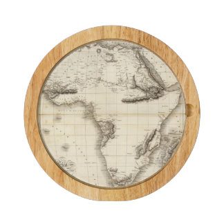 Africa 39 round cheese board