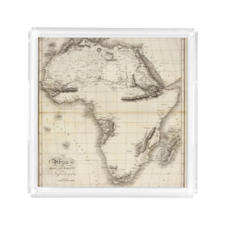 Africa 39 square serving trays