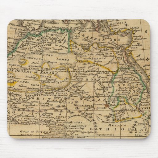 Africa 45 mouse pad