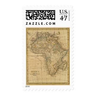 África 45 sello postal