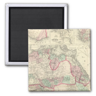Africa 47 2 inch square magnet
