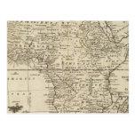 África 4 tarjetas postales