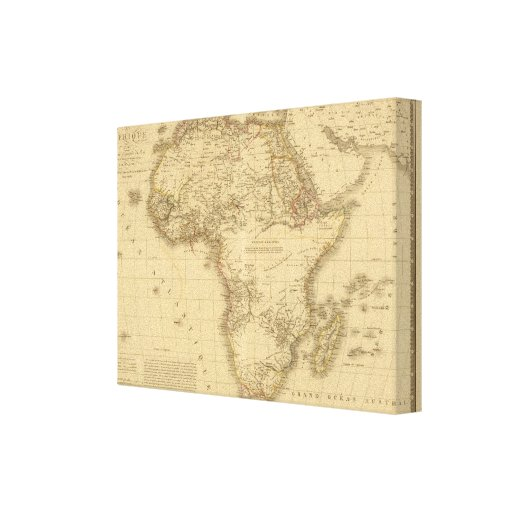 Africa 5 gallery wrapped canvas