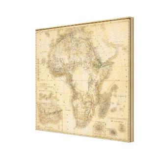 África 5 impresión en lona estirada