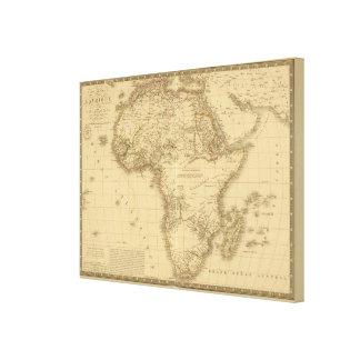África 5 impresiones en lona