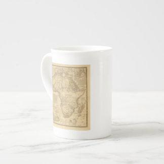 África 5 taza de porcelana