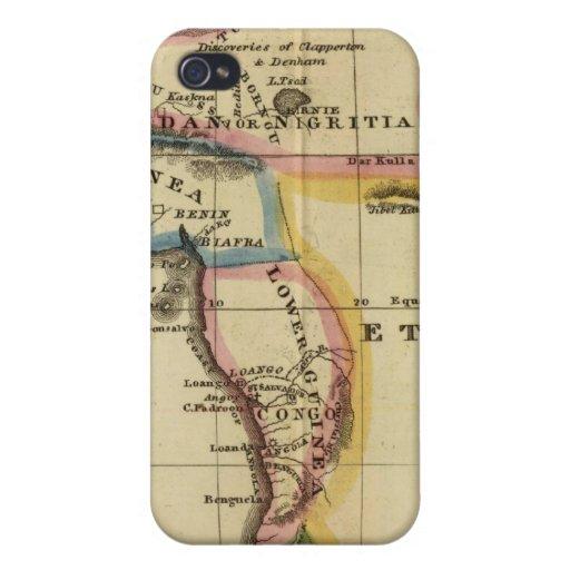 África 7 iPhone 4/4S fundas