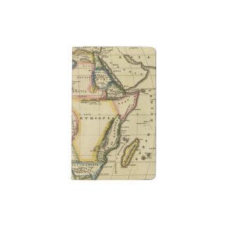 Africa 7 pocket moleskine notebook
