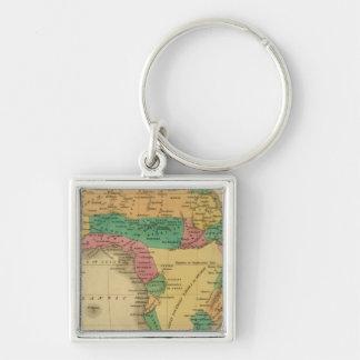 Africa 9 keychain