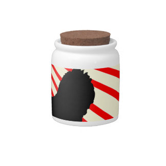 Africa abstract. candy jar