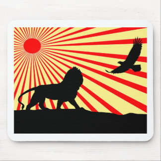 Africa abstract. mouse mats