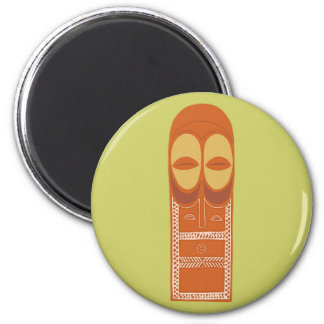 Africa Africa mask MASK Bembe 2 Inch Round Magnet