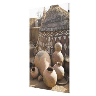 África África occidental Ghana Sirigu Handcraf Lienzo Envuelto Para Galerias