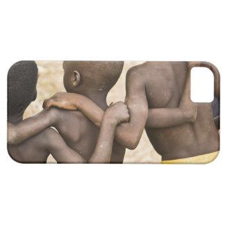 África, África occidental, Ghana, Yendi. Tiro del iPhone 5 Fundas