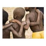África, África occidental, Ghana, Yendi. Tiro del  Postal
