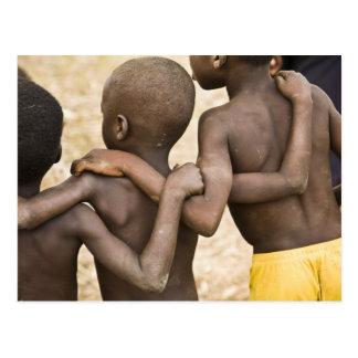 África, África occidental, Ghana, Yendi. Tiro del Tarjeta Postal