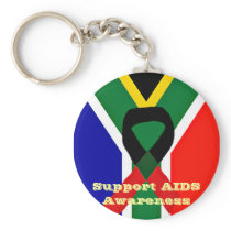 Africa,AIDS Awareness_ Keychain
