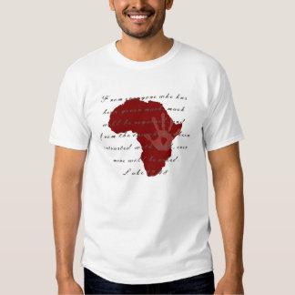 Africa AIDS / HIV / Poverty Awareness Shirt
