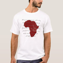 Africa AIDS / HIV / Poverty Awareness Shirt