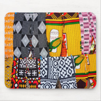 Africa, Angola, Benguela. Brightly Colored Pants Mouse Pad