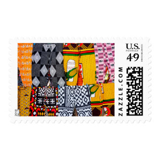 Africa, Angola, Benguela. Brightly Colored Pants Postage