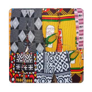 África, Angola, Benguela. Pantalones Posavasos De Puzzle