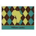 Africa Argyle Card