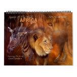Africa Art Calendar 2012