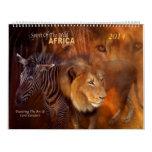 Africa Art Calendar 2014