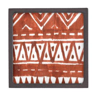 Africa art jewelry box