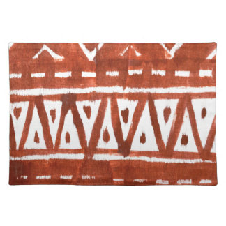 Africa art place mats