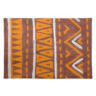 Africa art place mat