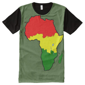 Africa as One All-Over-Print Shirt