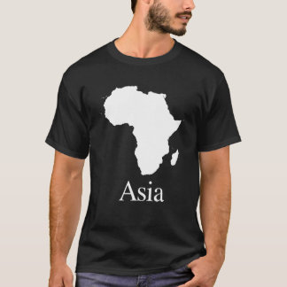 Africa Asia (for Darker color shirts) T-Shirt