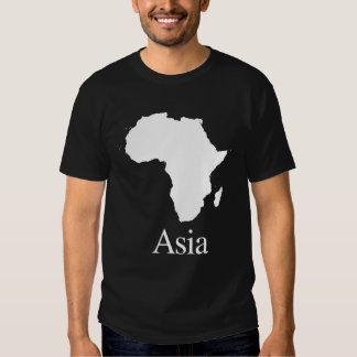 Africa Asia (for Darker color shirts) Tshirts