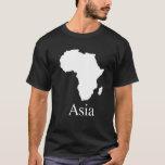 África Asia (para el camisetas de un color más