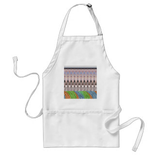 Africa Asia traditional pattern Adult Apron