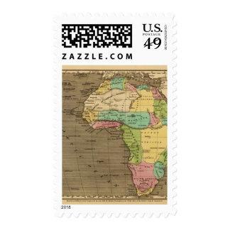Africa, Atlantic Stamp