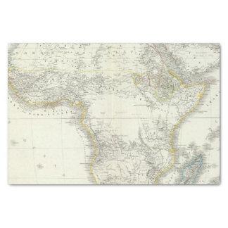 "Africa Atlas Map 10"" X 15"" Tissue Paper"