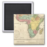 Africa Atlas Map 2 2 Inch Square Magnet