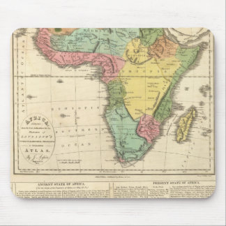 Africa Atlas Map 2 Mouse Pad
