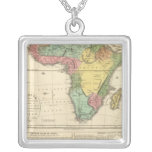 Africa Atlas Map 2 Necklace