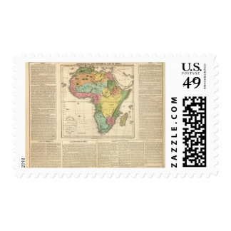 Africa Atlas Map 2 Postage