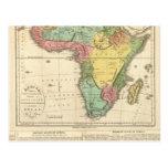Africa Atlas Map 2 Postcard